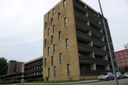 Siersteenlaan. Woningcomplex 36 appartementen. Woningbouw Geveke