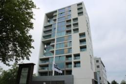 Pino blanc: een luxe appartementencomplex. Woningbouw door Geveke.