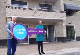 Oplevering van zorgvilla Verdi voor Zinn, De dilgt