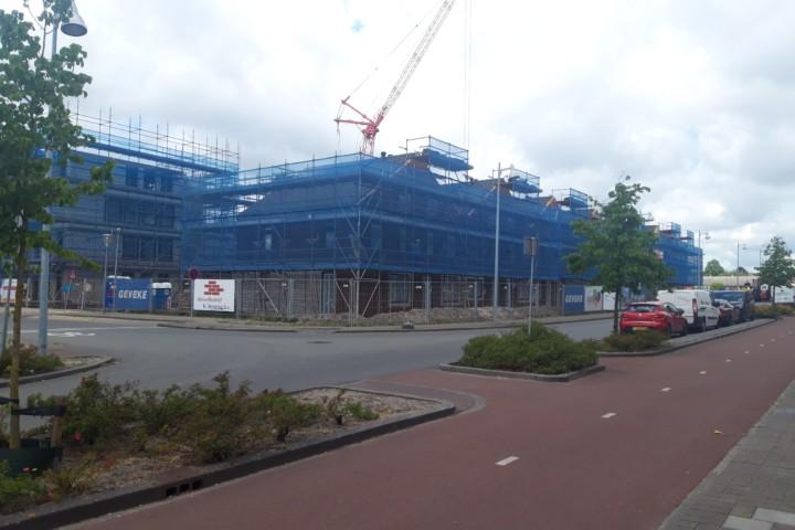 Aanbouw hof hoogesandt, Geveke woningbouw Hoogezand