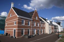 130918 BLAUWE STAD - Gebouwen in het havenkwartier.
