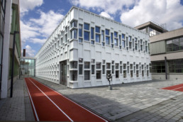 070720 GRONINGEN STAD - Wiebengacomplex. Hanzehogeschool Groningen. Eyssoniusplein.