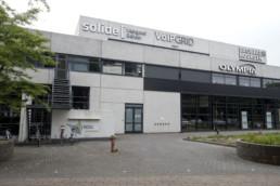 070720 GRONINGEN STAD - het pand van kwadraat aan de Lubeckweg waar ook de NDC mediagroep in gevestigd is.