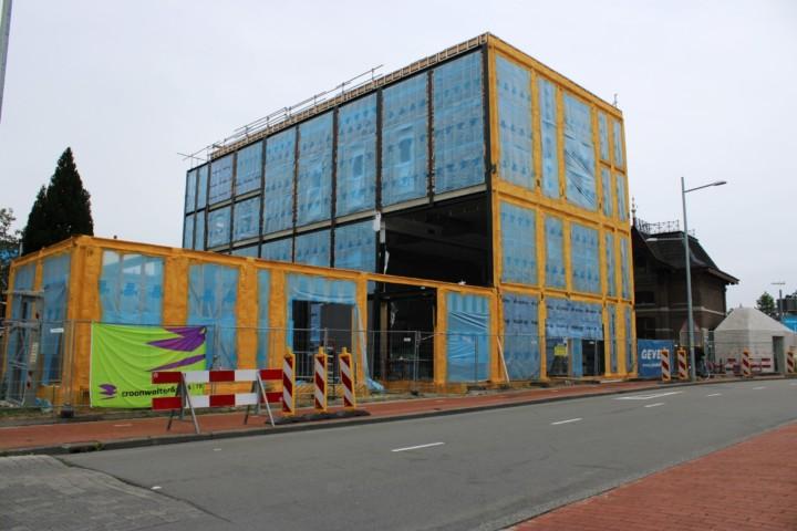 Kunstwerf. Huisvesting ebbingekwartier te Groningen.