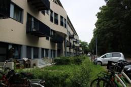 Transformatie van kantoorpand naar woningbouw. La belle Alliance