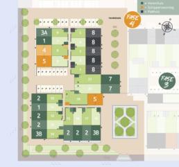 Kavelkaart Het havenkwartier fase 4