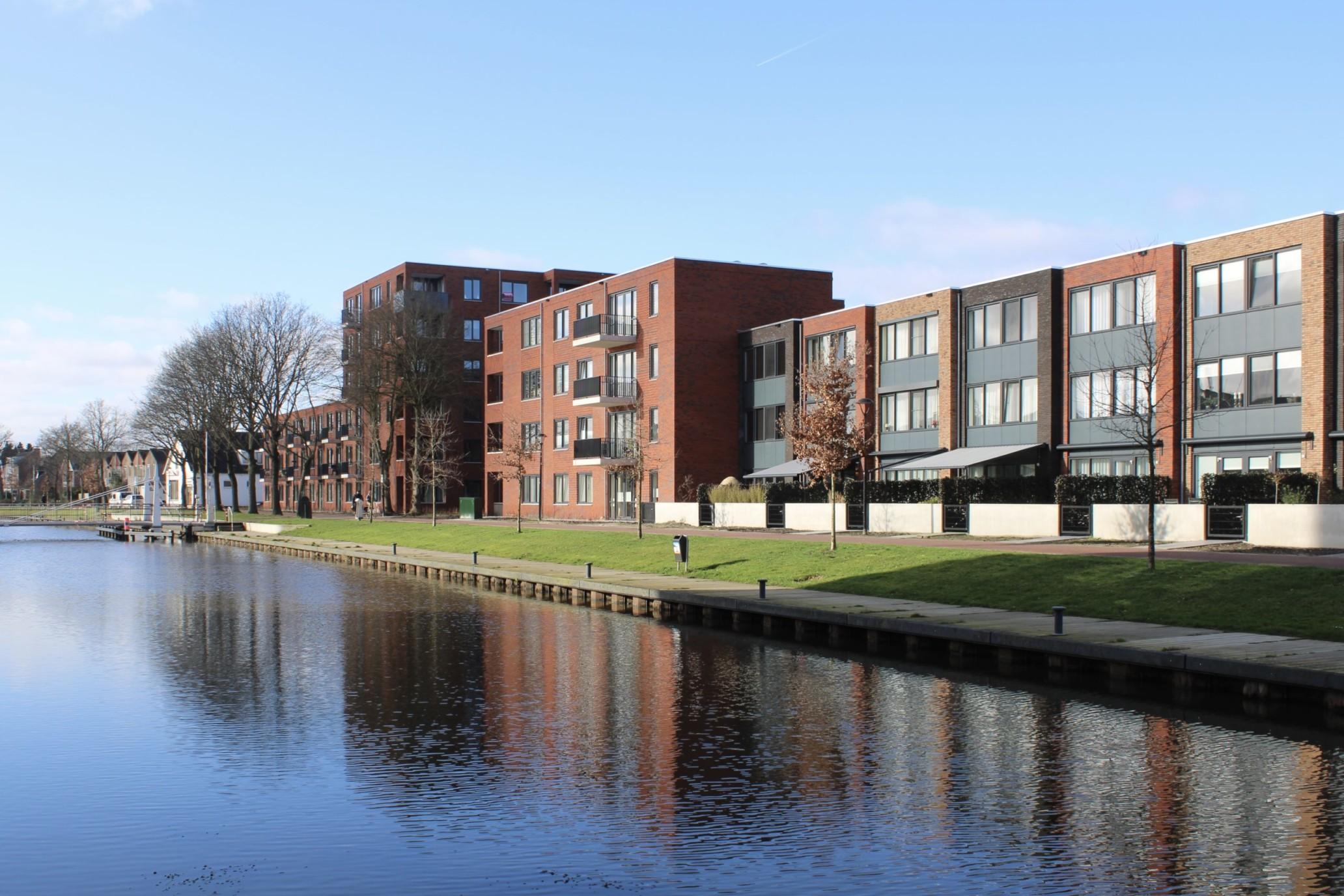 Mercuriushof woningbouw. Nieuw wooncomplex in Assen. Realisatie Geveke