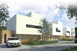 Assen Kloosterkronen, Impressie van de woningbouw.