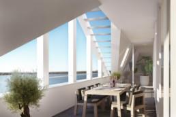 Balkon penthouse