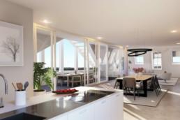 Keuken penthouse